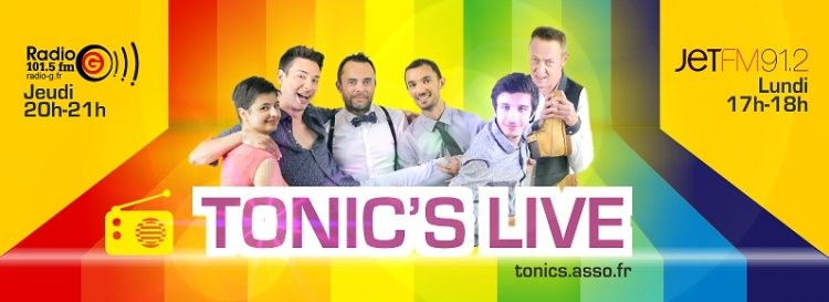 Podcast 2017 Emission Gay et Lesbienne Radio Tonic's Live Podcast 2017 Asso Gay et Lesbienne d'Angers 49 Association lgbt Tonic's , Maine et Loire