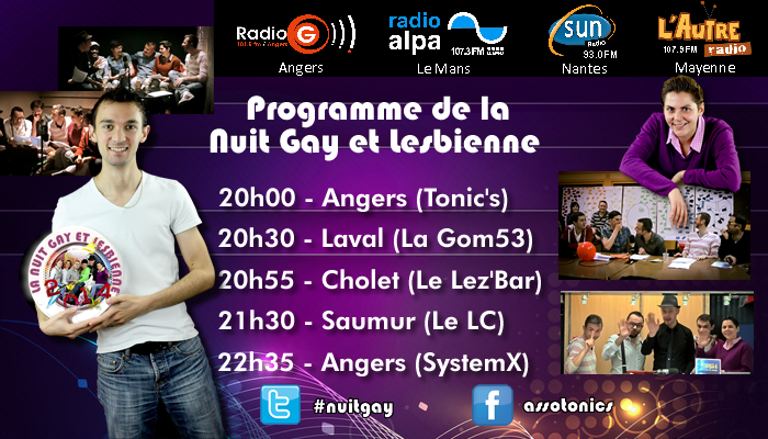 Programme nuit gay